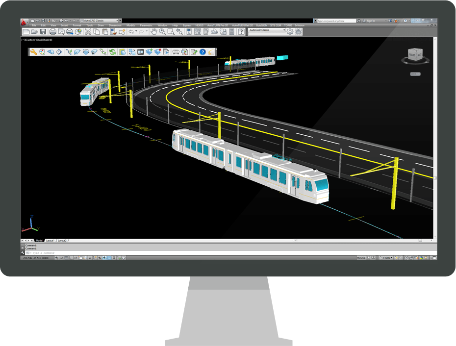AutoTURN Rail | Light Rail Transit 3D Analysis Software ...