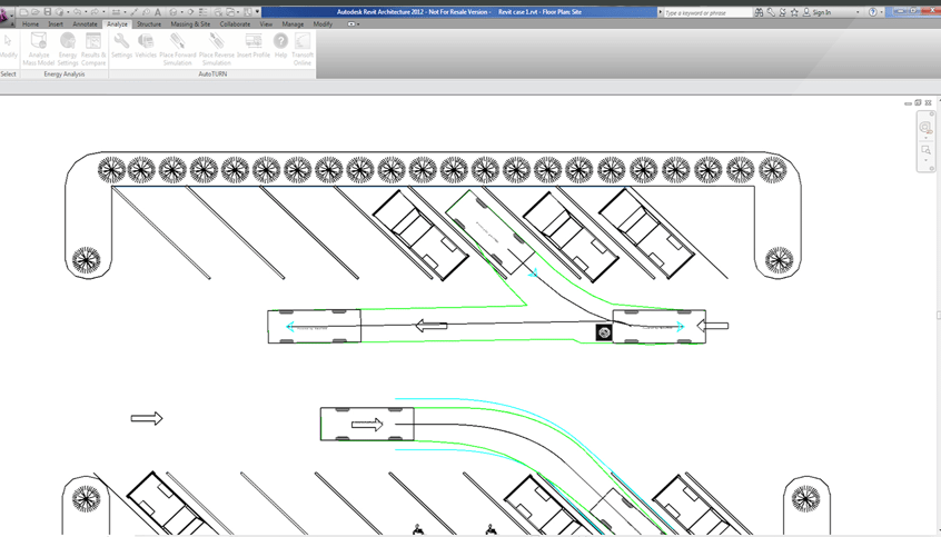 AutoTURN for Revit – Vehicle Swept Path Analysis and Turn