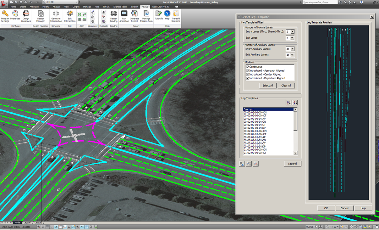 Nexus Cad Software For Junction Planning And Design Transoft Solutions
