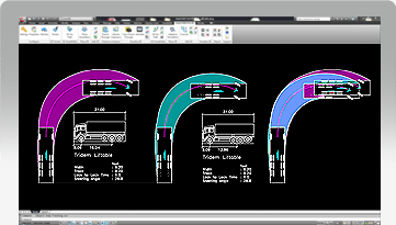 Autoturn swept path analysis software for vehicle turn for Design vehicles and turning path template guide