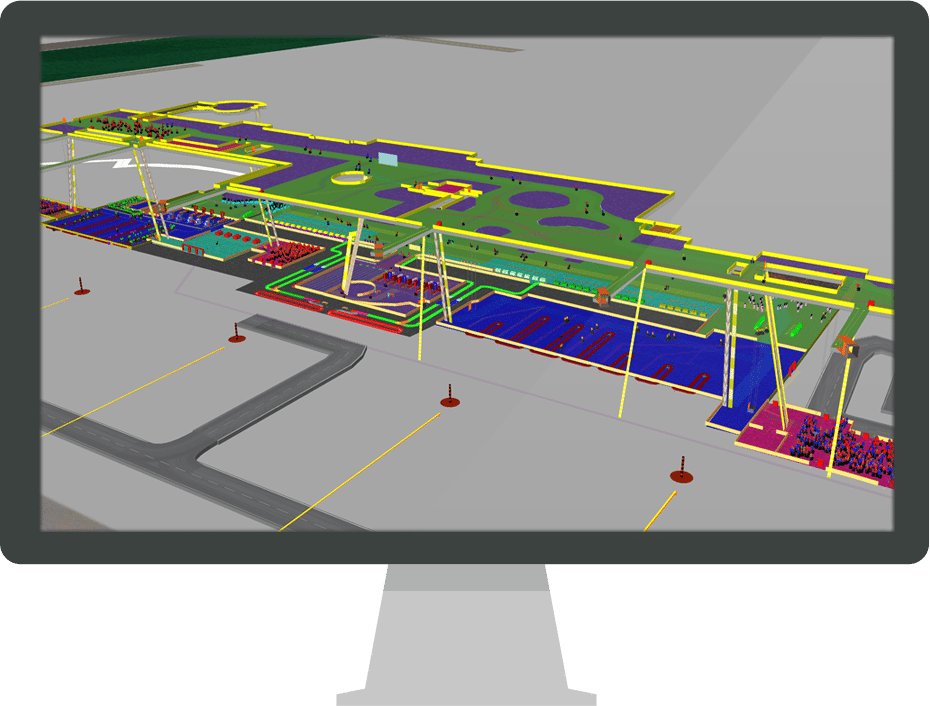 Arcport features transoft solutions Airport planning and design course