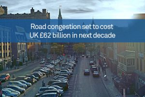 Road congestion set to cost UK £62 billion in next decade