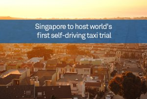 Singapore to host world's first self-driving taxi trial