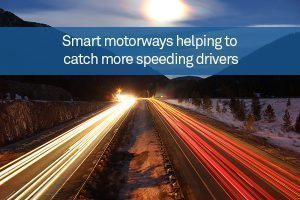 Smart motorways helping to catch more speeding drivers