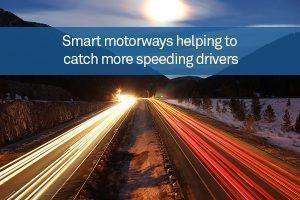 Smart motorways helping to catch more speeding drivers