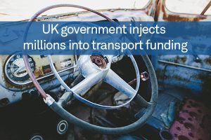 UK government injects millions into transport funding