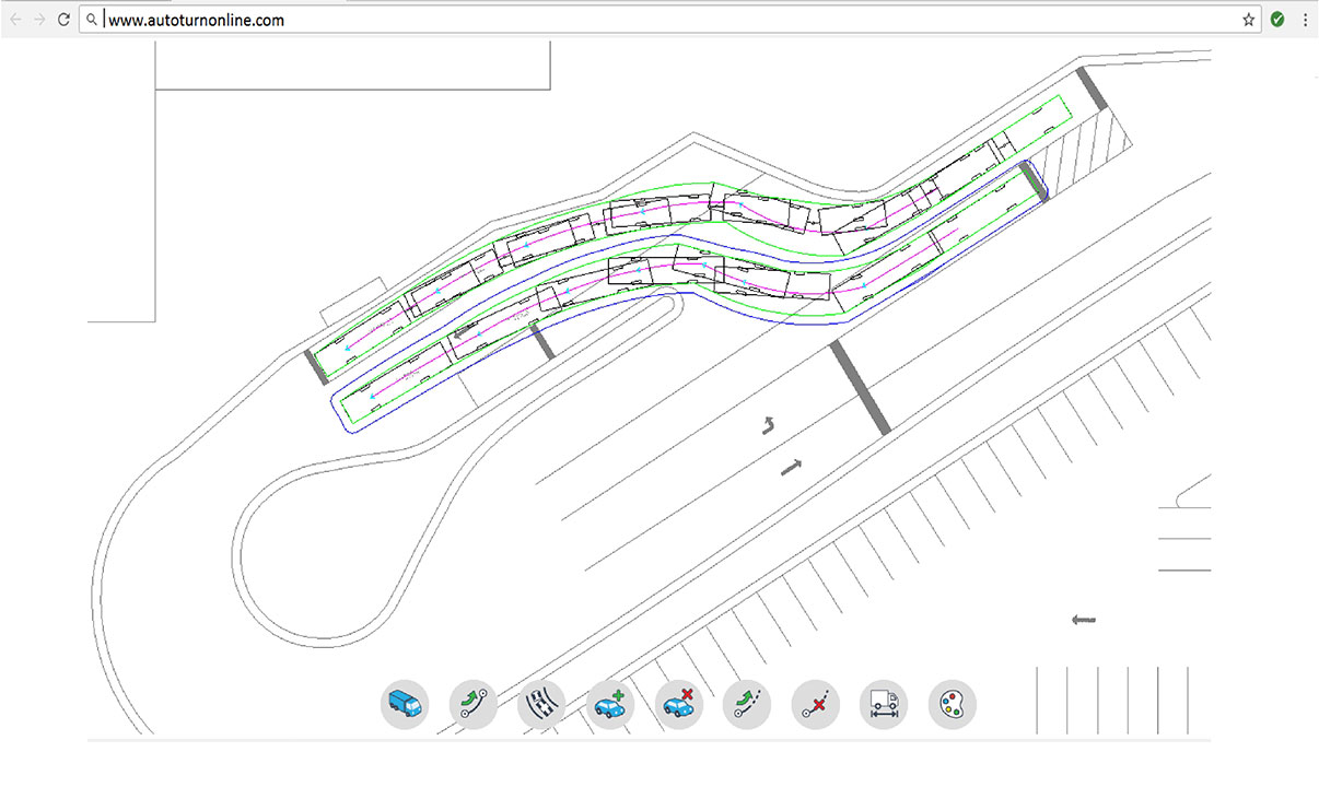 Online Swept Path Analysis in your Browser