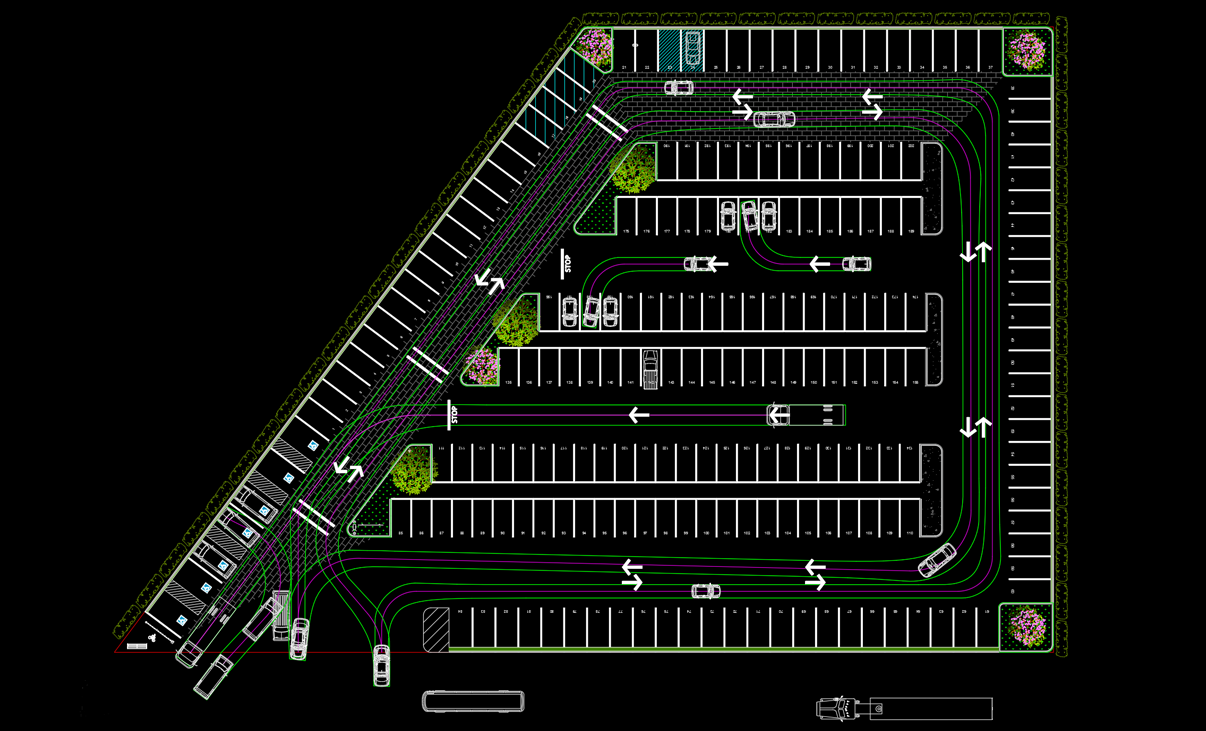 ParkCAD | Parking Lot Design and Layout Software | Parking