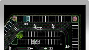 Parkcad Parking Lot Design And Layout Software Parking