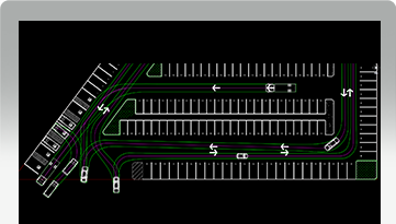 Car Parking Layout Design