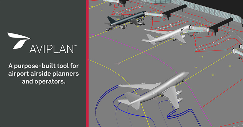 Aircraft ground movement and taxiing simulation