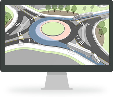 Torus Roundabouts Roundabout Design Software Transoft Solutions